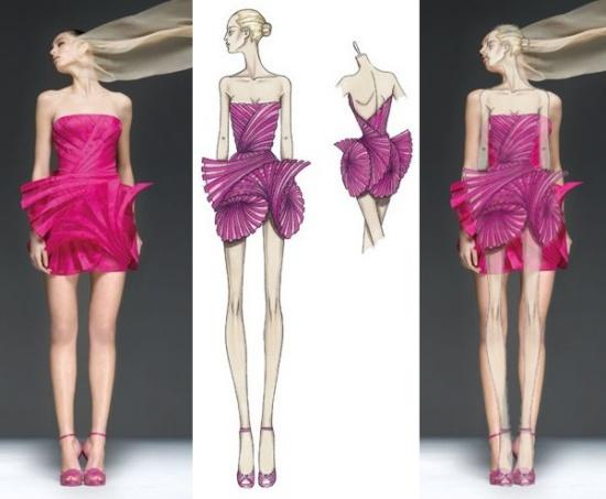 Illustration Fashion Designer Guilt Free Christianity